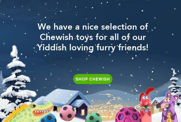 We have a nice selection of Chewish toys. Shop Chewish
